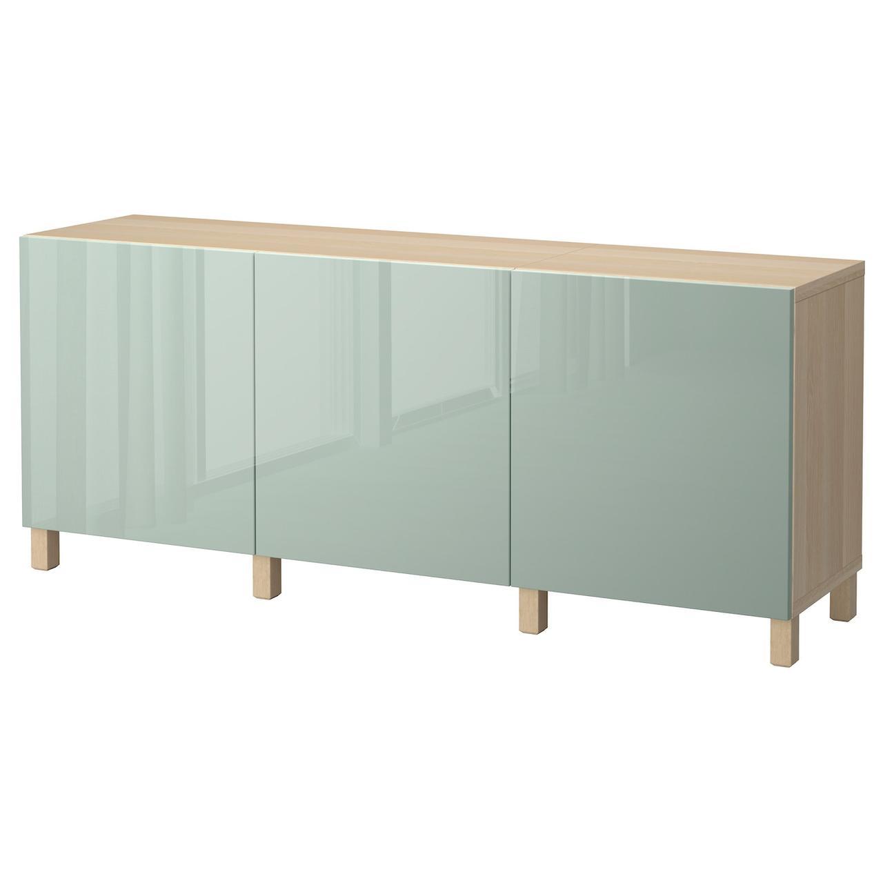 IKEA BESTA Тумба под телевизор 180x40x74 см (292.059.25), фото 1