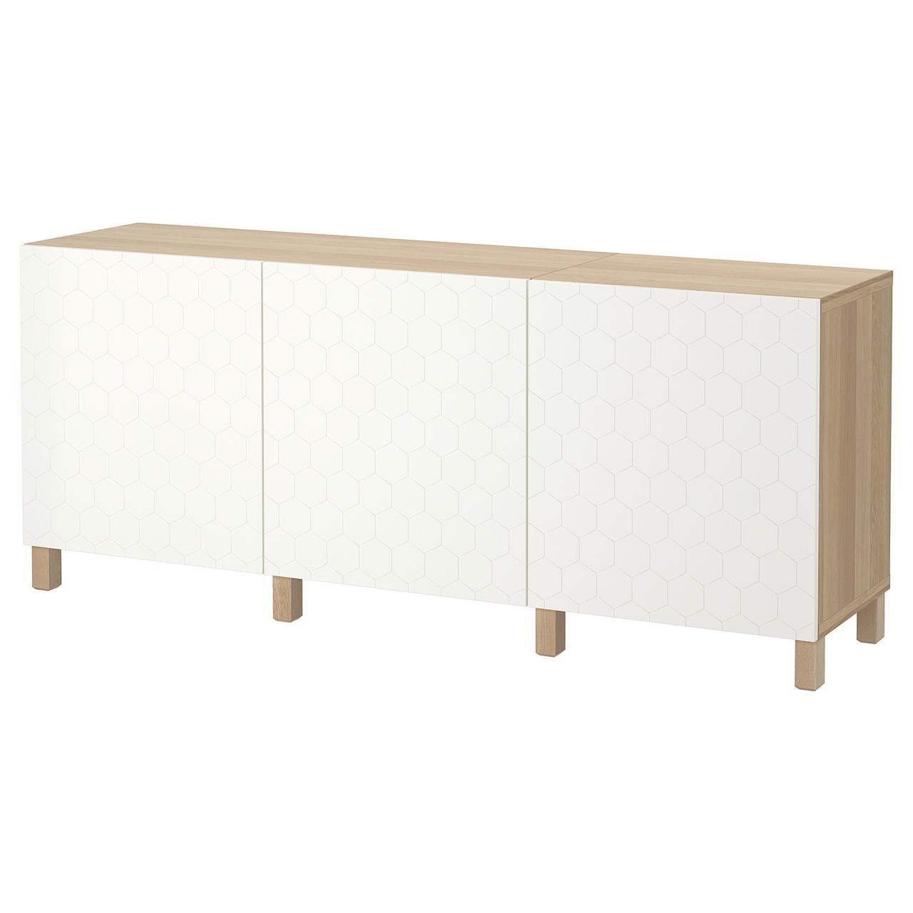 IKEA BESTA Тумба под телевизор 180x40x74 см (492.666.73), фото 1