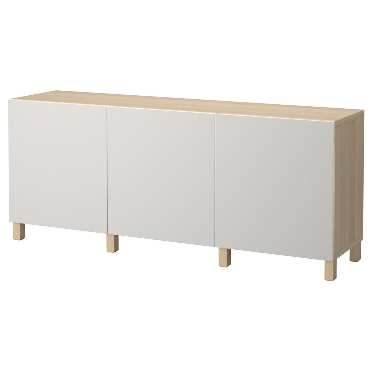 IKEA BESTA Тумба под телевизор 180x40x74 см (992.059.03), фото 1