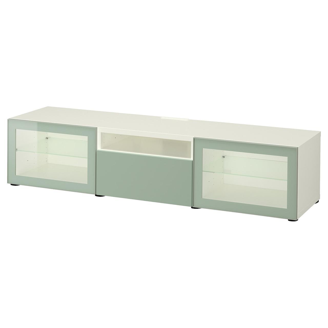 IKEA BESTA Тумба под телевизор 180x42x39 см (093.244.77), фото 1