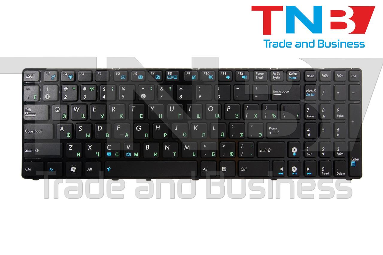 Клавиатура ASUS 04GNV32KBE00-2 04GNV32KBE00-3 04GNV32KBE00-6 04GNV32KBE01-3 (K52 версия) RU 100% ОРИГИНАЛ