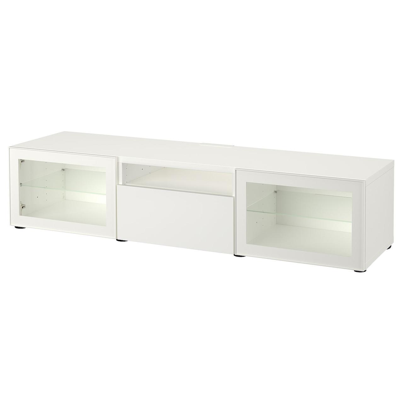IKEA BESTA Тумба под телевизор 180x42x39 см (993.244.68), фото 1