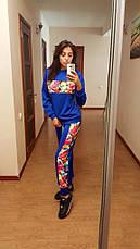 Спортивный костюм с цветными вставками, фото 3