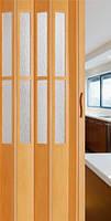 Раздвижная дверь гармошка складная Crystalline Classic