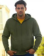 Мужская худи на молнии Premium Hooded Sweat Jacket   Различных цветов TR-034