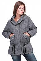 Молодежное короткое пальто на силиконизированом синтепоне