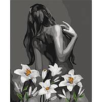 "Картина по номерам.""Роковая женщина"" 40*50см KHO4615 (РК-0241KHO4615)"