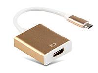 Конвертер перехідник USB Type C до дисплея HDMI