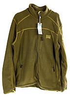 F1-00373, Флисовая кофта мужская L, батник, COASTGUARD, хаки