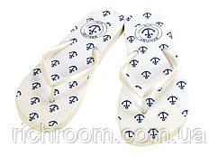F1-00352, В'єтнамки жіночі пляжні з якорями, 38/39, Lidl