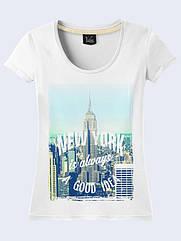 Женская футболка Нью-Йорк - хорошая идея