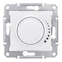 Светорегулятор поворотно-нажимной индуктивный 60-500 Вт Белый Sedna SDN2200521
