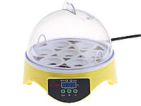 Інкубатор на 7 яєць HHD електронний автоматичний