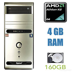 Hyrican PC PCK02992 Tower / AMD Athlon II X2 215 (2 ядра по 2.7GHz) / 4GB RAM / 160GB HDD, фото 2