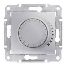 Світлорегулятор поворотно-натискний індуктивний 60-500 Вт Алюміній Sedna SDN2200560