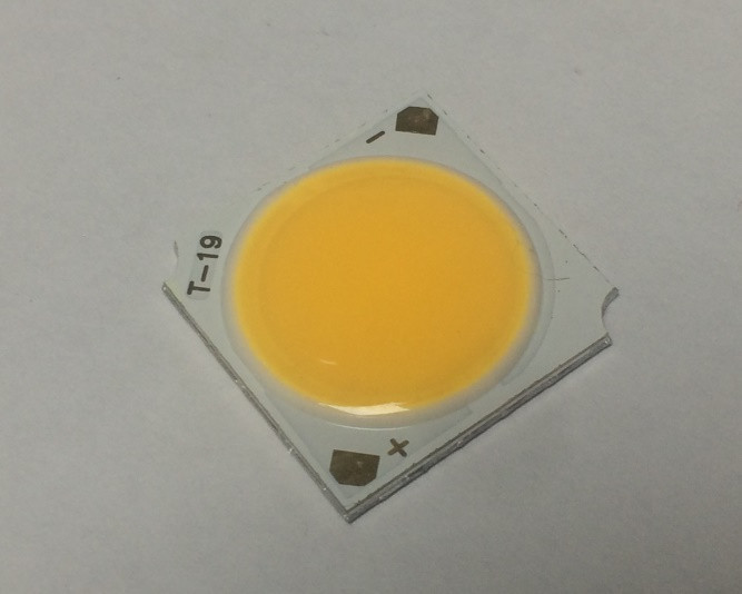 Светодиод матричный PREMIUM СОВ SL-1312 15W 3200К 300мА 19мм Код.59693