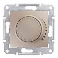 Светорегулятор поворотно-нажимной индуктивный 60-500 Вт Титан Sedna SDN2200568