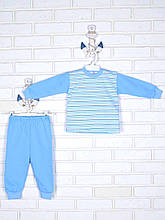 Блакитна піжамка 80-86