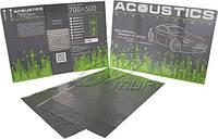 Шумо- виброизоляция аcoustics 1,6мм 700x 500