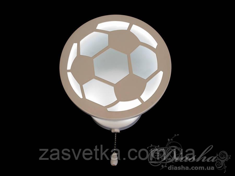 """Светодиодное бра """"футбольный мяч"""" в детскую 18W 8065/1WH RGB"""