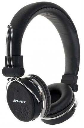 Bluetooth наушники Awei A700BL Чёрные (46204), фото 2