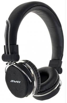 Bluetooth-навушники Awei A700BL Чорні (46204), фото 2