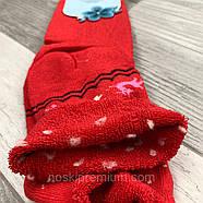 Носки женские махровые хлопок без резинки с отворотом Корона, 37-42 размер, ассорти, 2212, фото 3