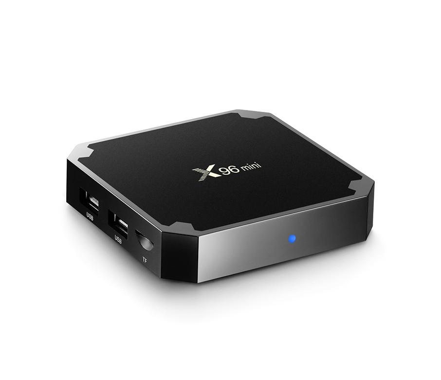 Смарт ТВ приставка Smart TV Box X96 mini 1GB+8GB процессор 4 ядра