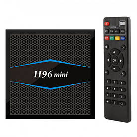 Смарт ТВ приставка Smart TV Box H96 Mini 2GB+16GB процессор 4 ядра с Bluetooth