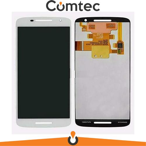 Дисплей для Motorola XT1561 Moto X Play/XT1562//XT1563/XT1564 с тачскрином (Модуль) белый