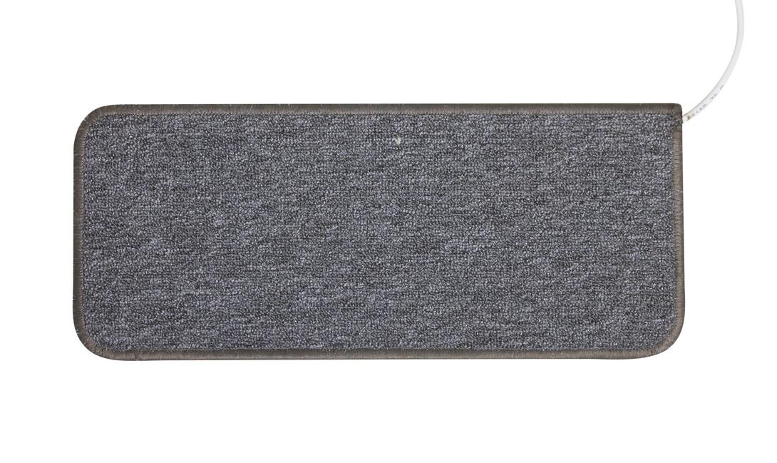 Коврик с подогревом до 50 градусов Solray CG5323 530x230 мм 22 Вт серый