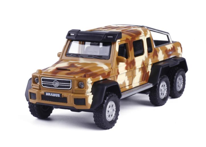 Машина металл Mercedes G-6х6 Gelenvagen 1:32 3
