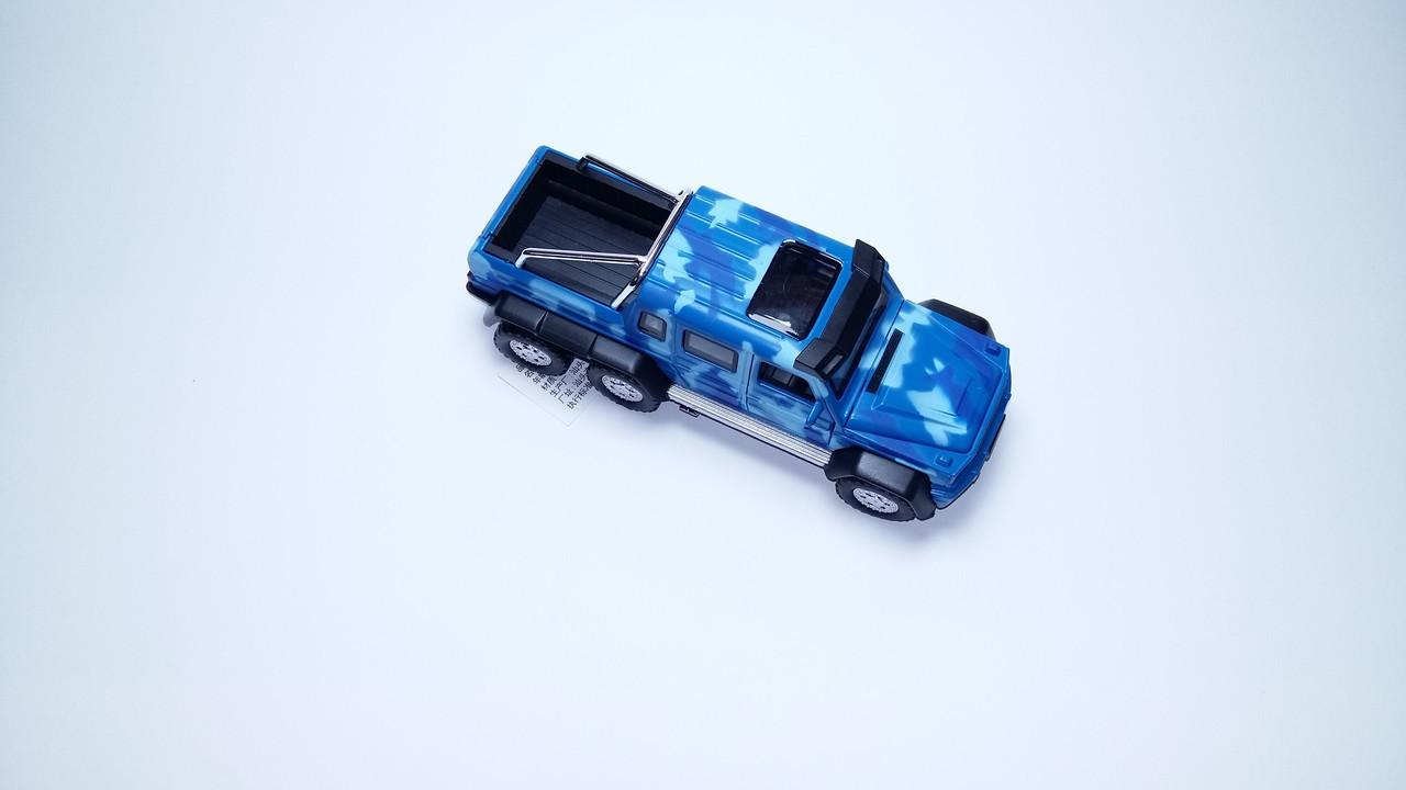 Машина металл Mercedes G-6х6 Gelenvagen 1:32 7