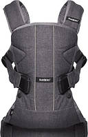 BabyBjorn. Сумка-кенгуру Baby Bjorn Baby Carrier One Cotton Mix Denim grey (98094)