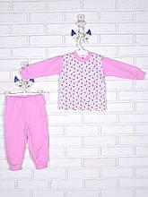 Піжама рожева божа корівка 122-134