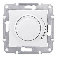 Светорегулятор поворотно-нажимной емкостной 25-325 Вт Белый Sedna SDN2200721