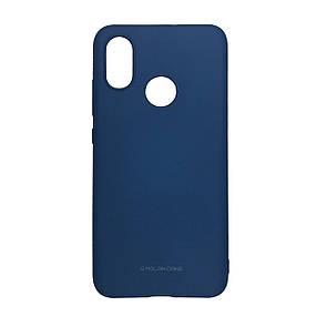 Чехол-накладка силикон Hana Molan Cano для Xiaomi Mi Max 3 (blue)