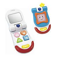Телефон 0618 NL (24шт) 14см,фоторамка, зеркальце, грызунок, муз,зв,св,на бат-ке, в кор-ке, 16-22-7см