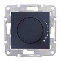 Светорегулятор поворотно-нажимной емкостной 25-325 Вт Графит Sedna SDN2200770