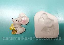 Молд Мишка з сиром, миша новорічний, 2020, символ року