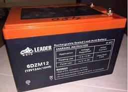 Батарея 6-DZM-12 12V 12Аh AGM для велосипеда, электрического скутера  153х100х98мм Leader