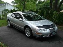 Дефлектор капота  Chrysler 300M с 1998-2004, Мухобойка Chrysler 300M