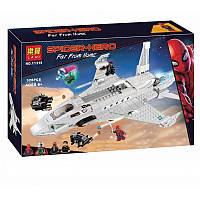 "Конструктор Bela 11315 ""Реактивный самолёта Старка и атака дрона"" (аналог Lego Super Heroes 76130) 528 деталей"