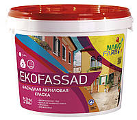 Акриловая фасадная краска Ekofassad Nano farb 14 кг
