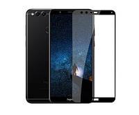 Защитное стекло / Захисне скло Huawei Honor 7x, BND-L21 чорний 6D Full