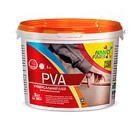 Клей строительный универсальный PVA Nano farb 5.0 кг
