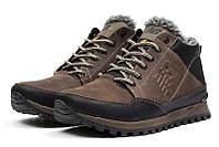 Мужские ботинки на меху New Balance коричневые р.40 Акция -45%!