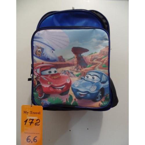 Рюкзак школьный Тачки