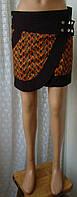 Юбка модная молодежная хлопок мини бренд Maluka р.44, фото 1