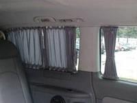 Автошторки - Шторки для Mercedes Vito 639- Вито серые